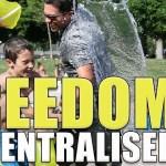 A short manifesto of decentralised freedom