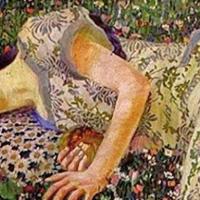 """#QuadroDelGiorno: Felice Casorati, """"Il Sogno Del Melograno"""", 1912"""
