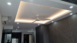 North Park Residence Falseceiling and Covelight