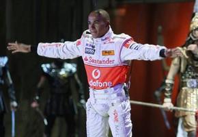 Lewis Hamilton of Troya