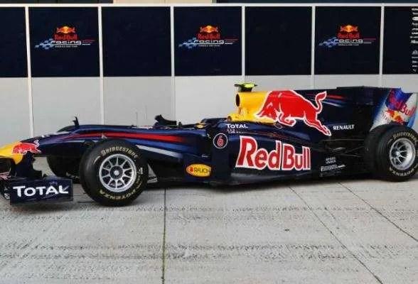 REd Bull RB6 1