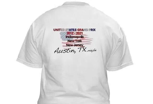 F1B USGP shirt