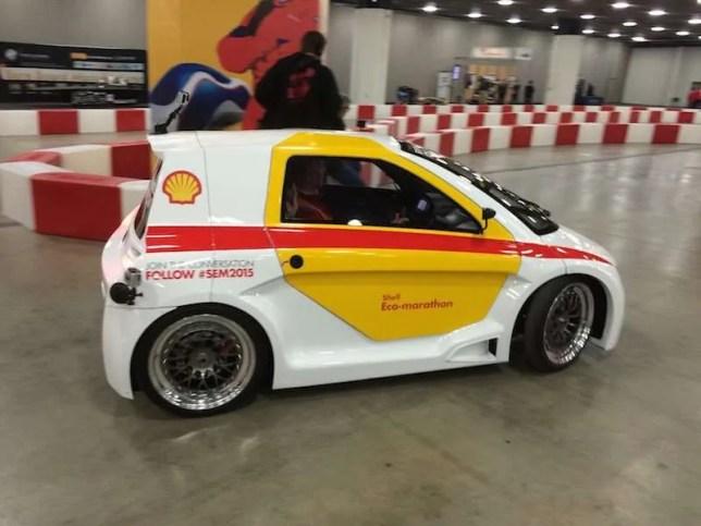 Shell Media car