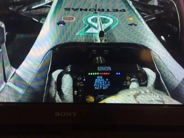 Hamilton wheel message