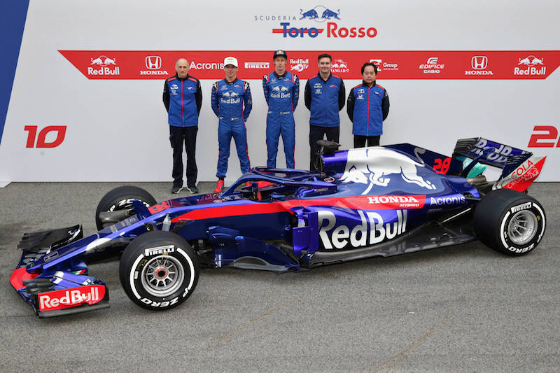 scuderia toro rosso launch 2018 car the parc ferm. Black Bedroom Furniture Sets. Home Design Ideas