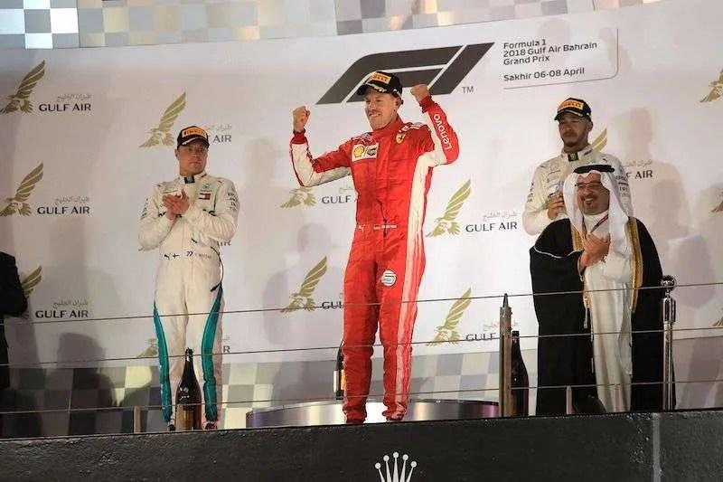 Race Report: Vettel holds off Bottas for Bahrain GP victory