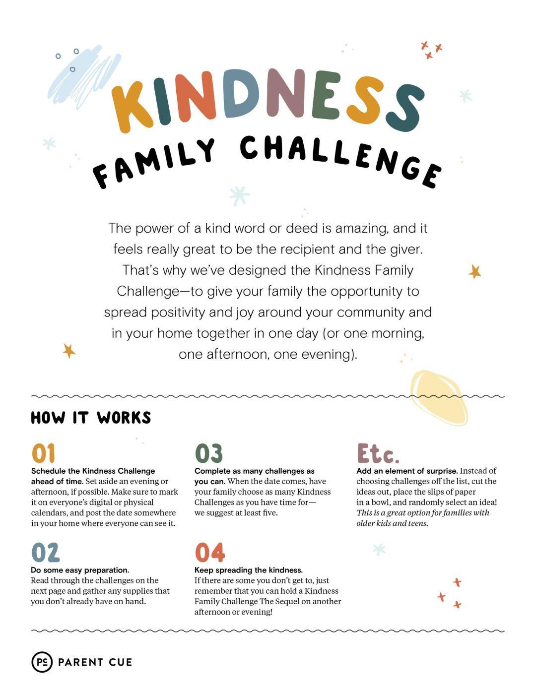 Family Gratitude Challenge Preview