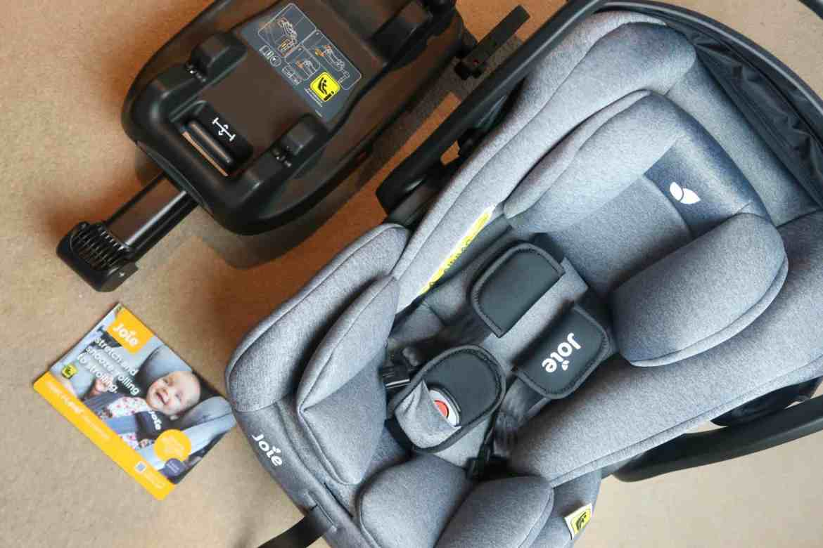Joie carseat and Isofix base