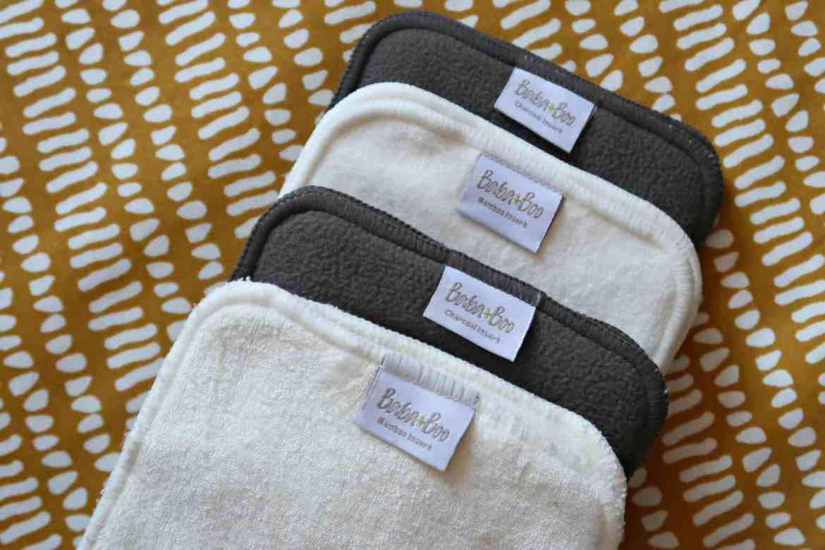 Baba and Boo cloth nappy inserts