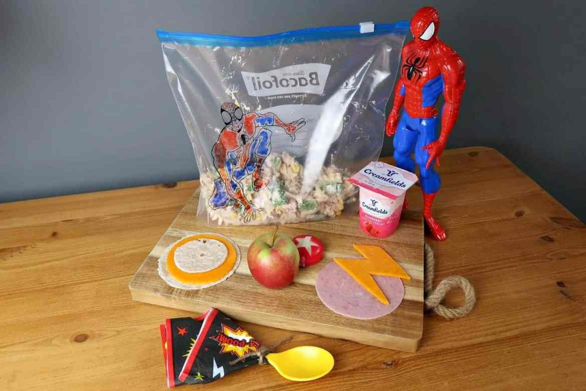 Superhero lunchboz ideas
