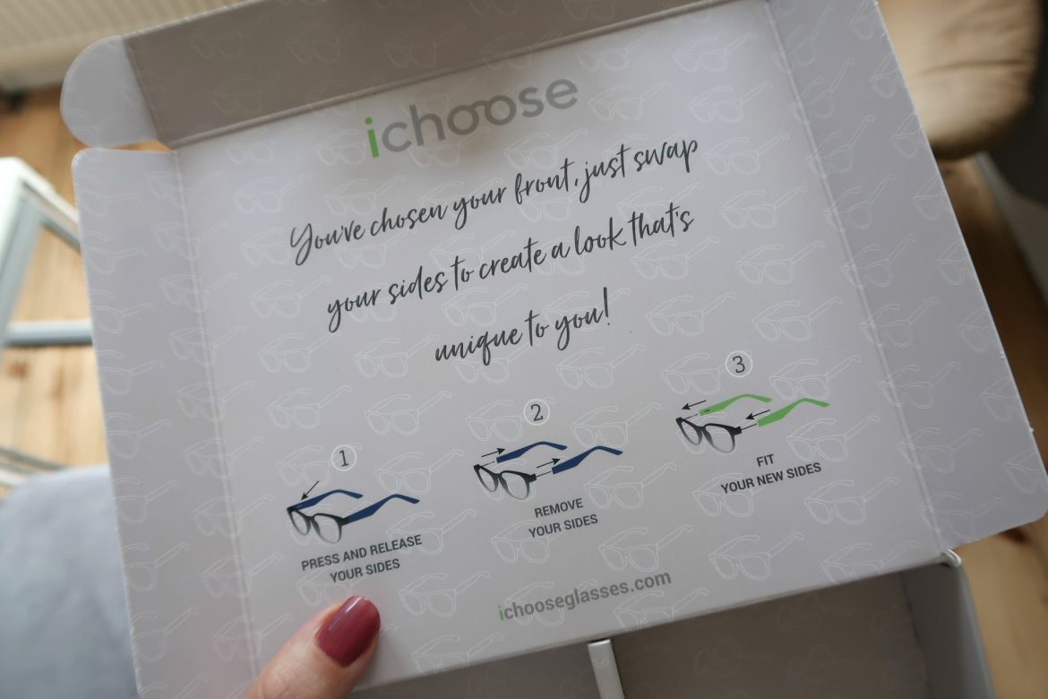iChoose box showing instructions