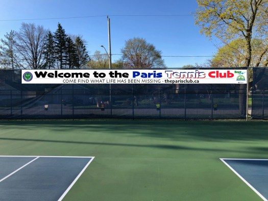 Welcome to the Paris Tennis Club