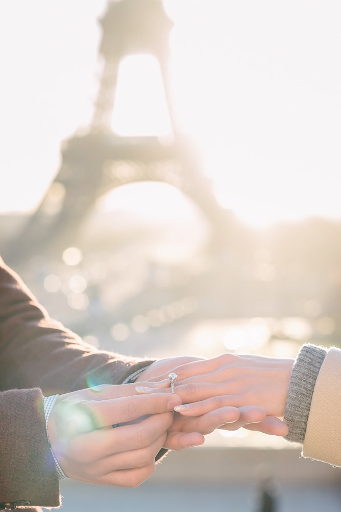 Creative engagement photo ideas - Put a ring on it 2