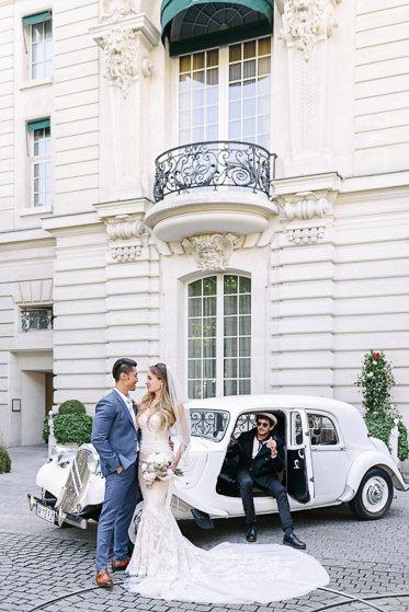 Pre wedding photo package Paris - Transportation