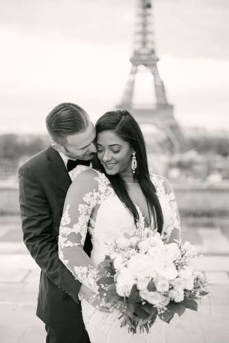 Wedding photographer in Paris - Stefone & Andrew testimonial about Paris wedding
