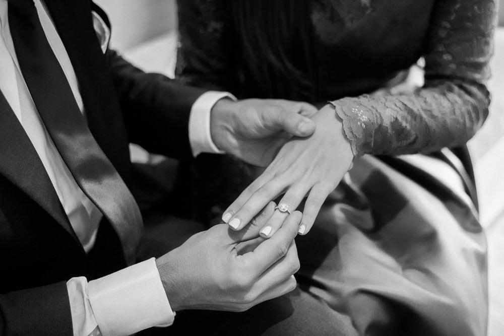 proposing in paris - tiffany & co engagement ring detail 2