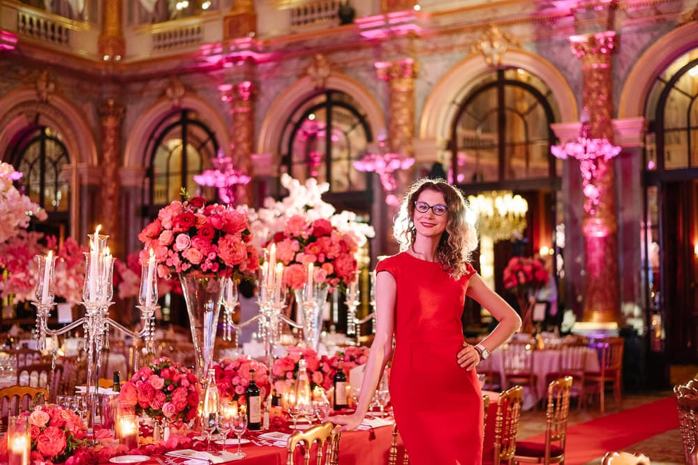 Luxury wedding in Paris - floral designer - Cristina - Kiona Event Design & Wow Factory
