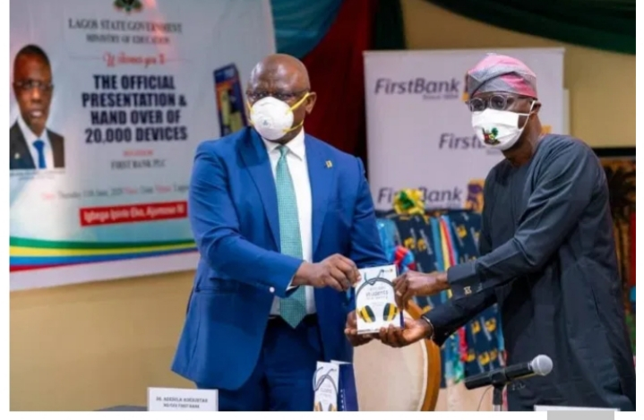 First Bank Steps up Intervention in Education