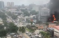 News Flash: Two Banks on Fire in Lagos