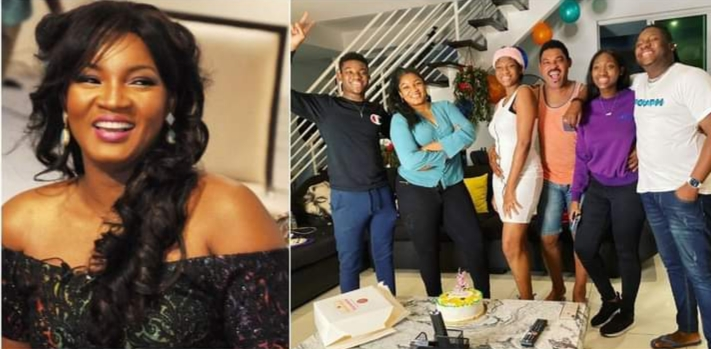 Omotola Celebrates Daughter who Bags Master's Degree