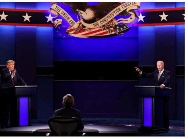 US Election: President Trump, Biden Trade Words during Debate