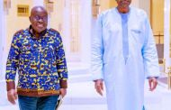 Outcome Unclear as Buhari Holds Closed-door Meeting with Ghana's President