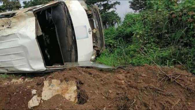 AIT  Crew Enroute Edo for Election Coverage Involved in Accident