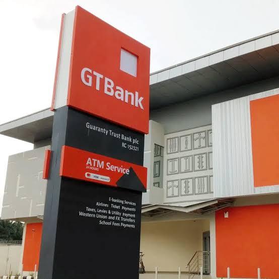 GTBank Earnings Drop by Five Percent in H1 2020
