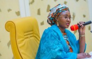 Again, Aisha Buhari Tackles Husband's Stance on Lazy Nigerian Youths