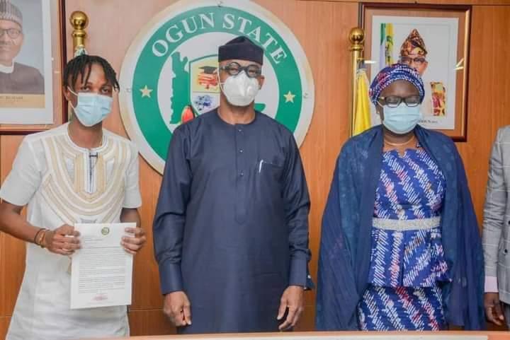 Laycon Bags Ogun Ambassadorial Deal