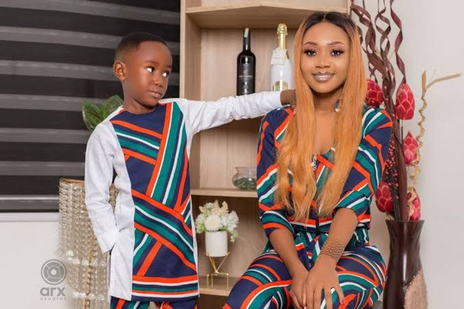 Ghanaian Actress who Posted Nude Pictures with Son Convicted