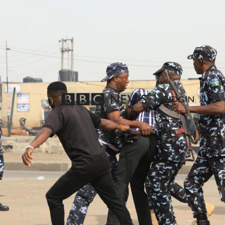 June 12 Protesters arrested in Lagos