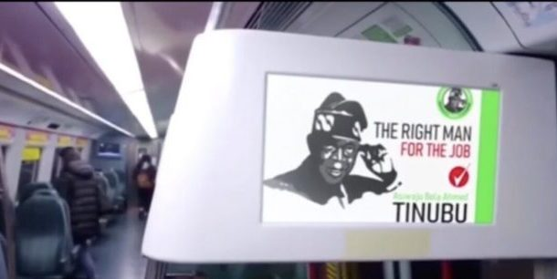 2023; Tinubu Launches Presidential Campaign in London