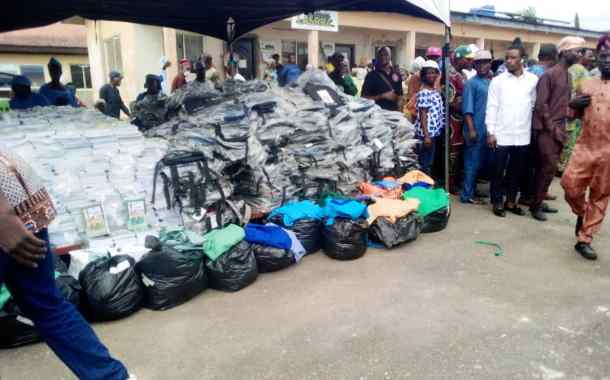 Lagos Lawmaker Donates Borehole,Educational Materials,Others in Epe
