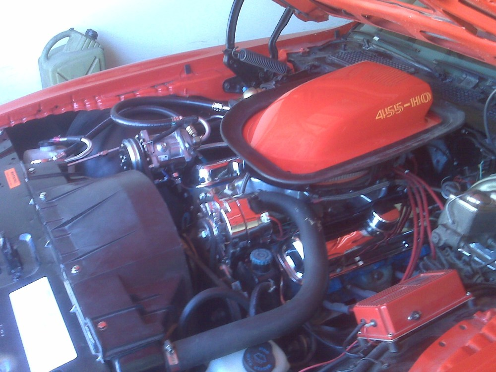 medium resolution of shown above installed on a 1975 trans am w vir