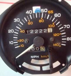 firebird trans am formula 1981 80 mph speedometer [ 2048 x 1536 Pixel ]