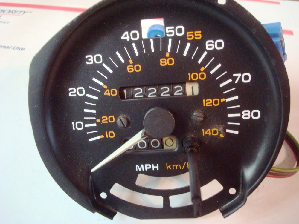 medium resolution of firebird trans am formula 1981 80 mph speedometer