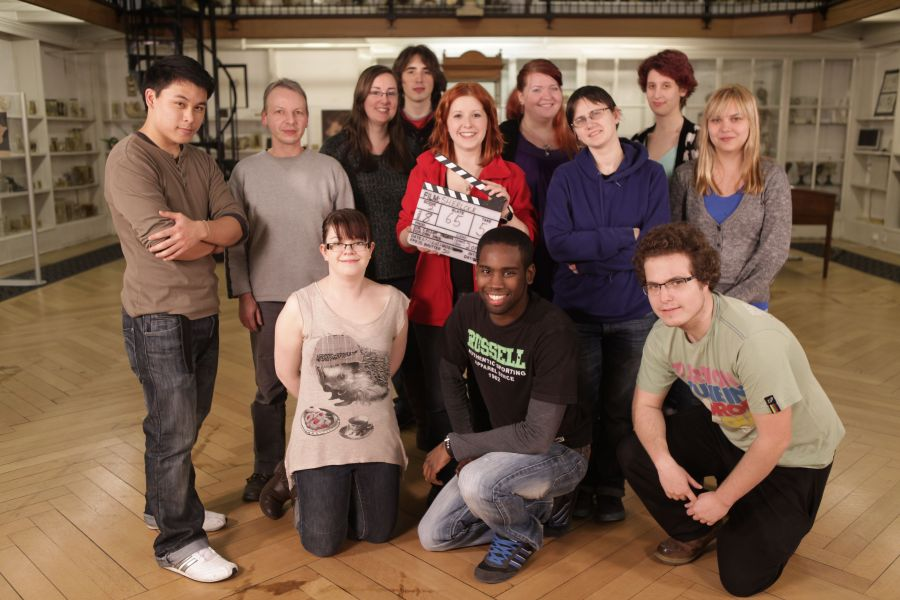 Film on a budget: The crew of Sherlock Holmes and the Stolen Emerald, short film made thanks to crowdfunding.