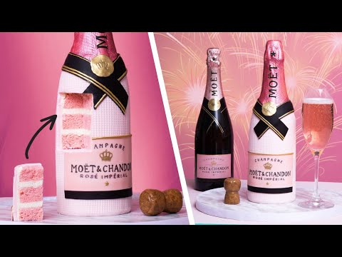 Moet Rose Champagne CAKE?? | Prosecco...