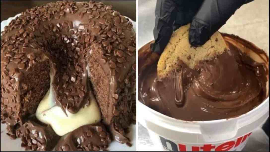 So Yummy Melted Chocolate Cake Recipes |...