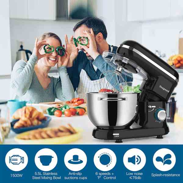 Vospeed Stand Mixer - Black
