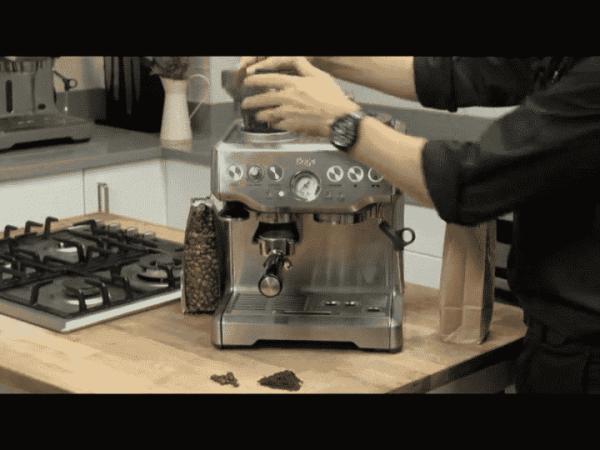 Sage the Barista Express Coffee Machine and Grinder 1700 W Black 0