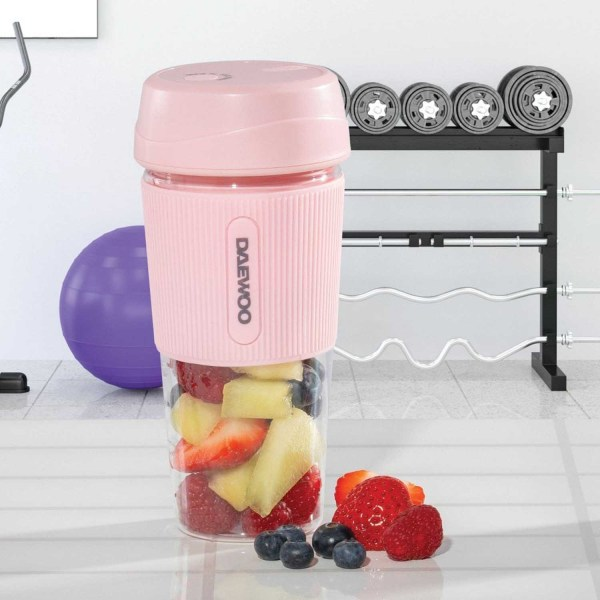 Daewoo Portable Pink Blender
