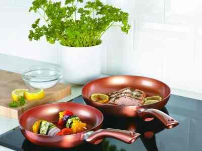 Cermalon Ceramic Coating Frying Pan Set