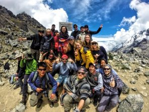 Our trekking group!