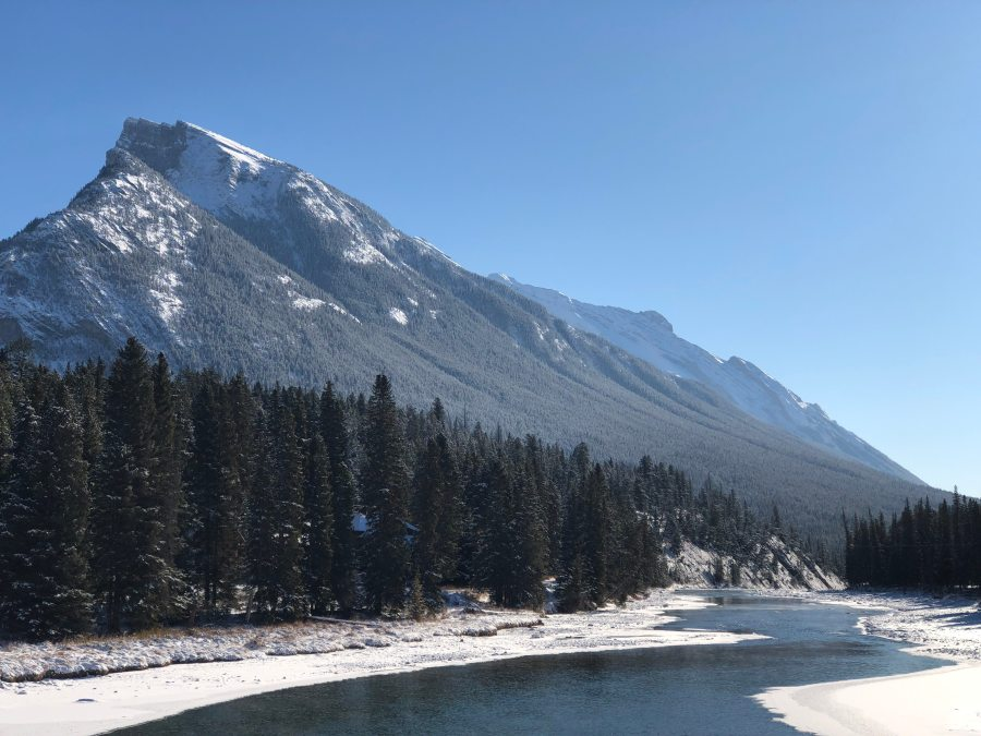 bow falls trail banff