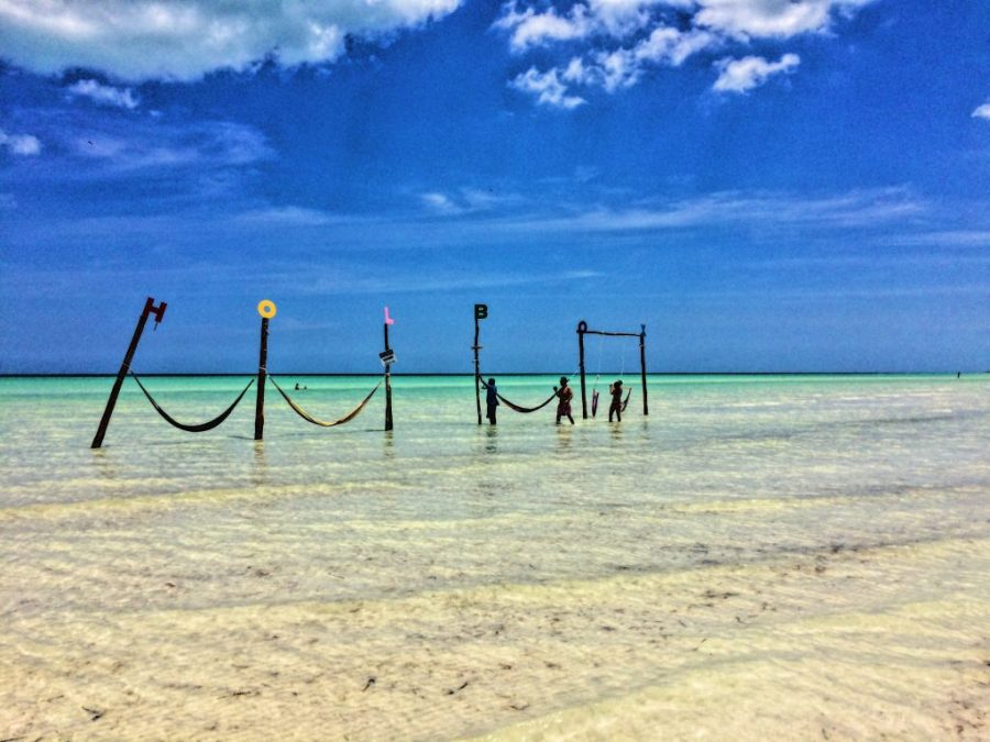 isla holbox water hammocks