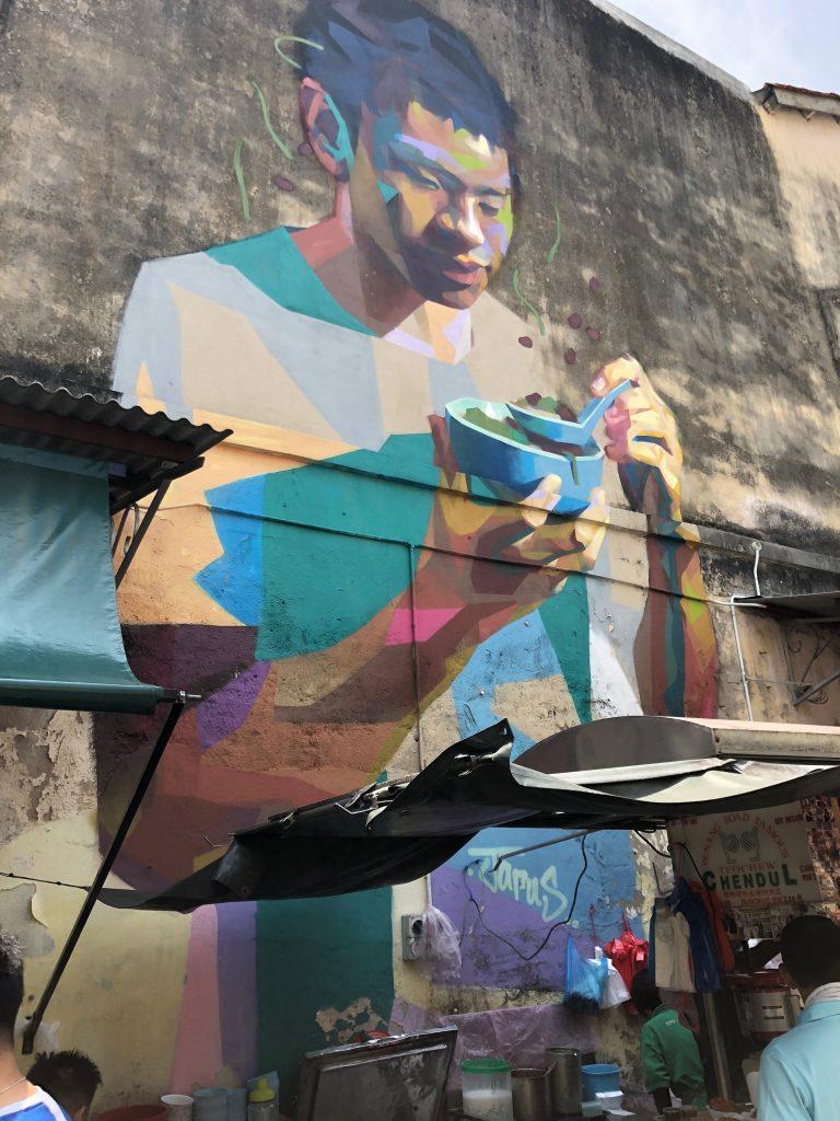 cendol street art penang