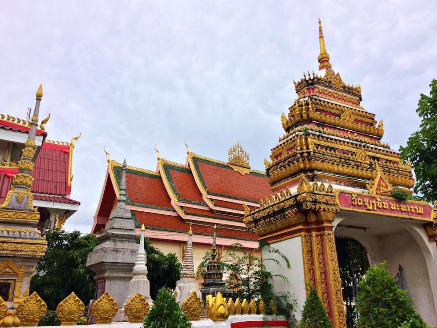 Vientiane Laos temples