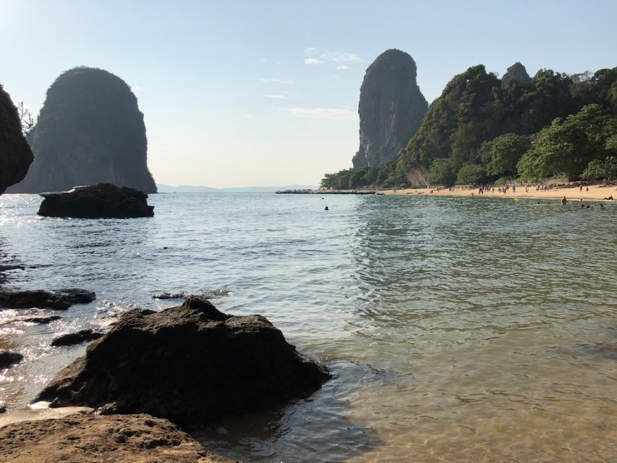 phra nang cave view railay beach